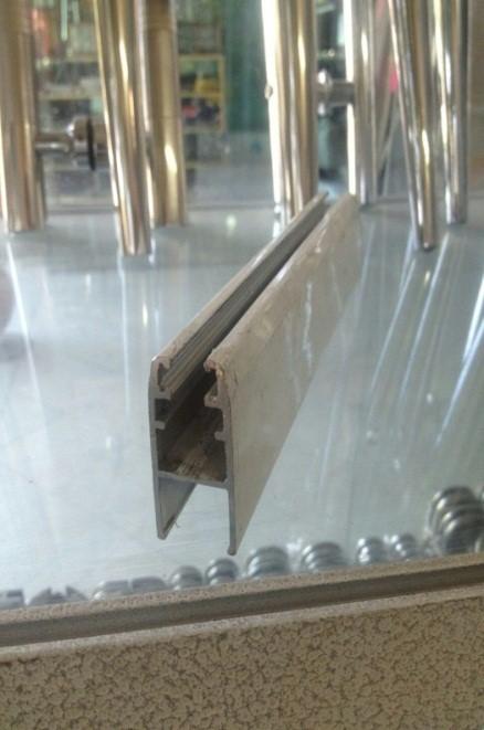 شیشه خور پایین شیشه سکوریت